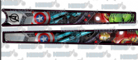 Marvel Avengers Top Tube & Downtube Graphic